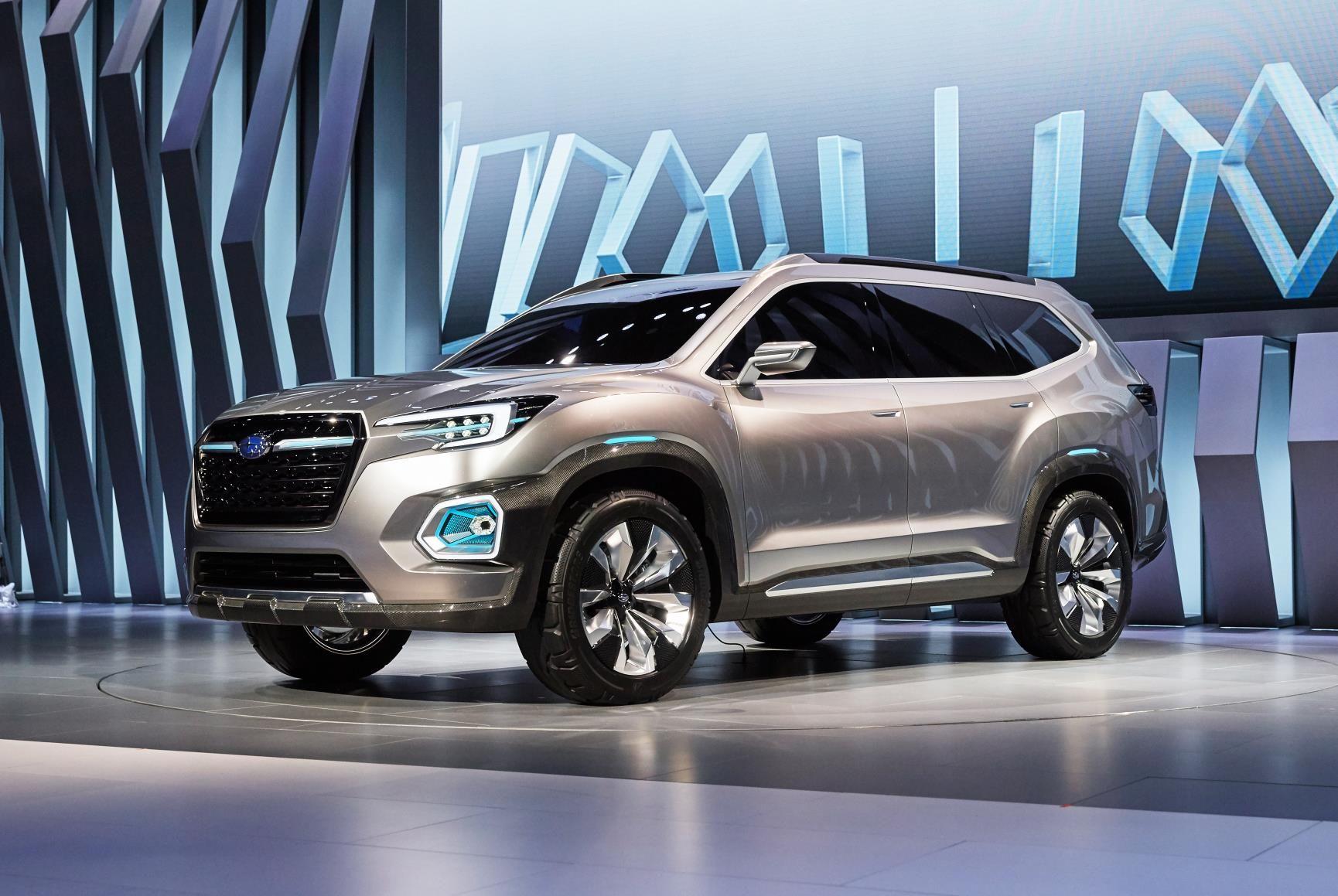 Subaru viziv 7 concept subaru viziv concept