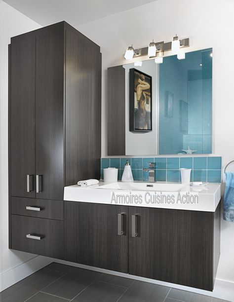 Qui a dit que salle de bain des enfants pouvait être banale ? Vanité