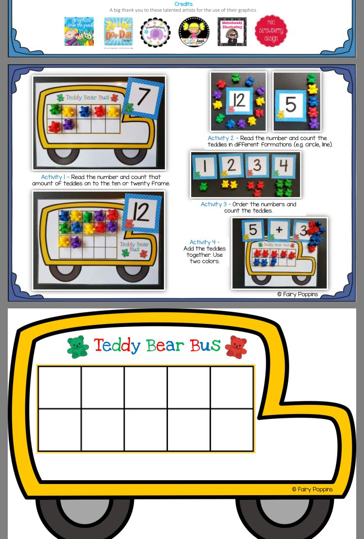 Pin by Diane Mayer on Numbers Activities, Ten frames