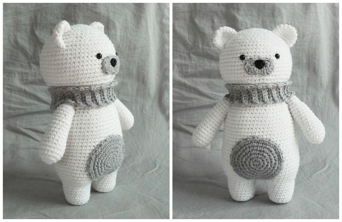 polar bear amigurumi free crochet pattern | Amigurumi | Pinterest ...