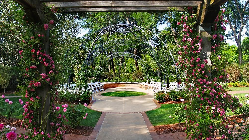 Garden Ceremony Locations Wedding Reception Venue Dallas Arboretum