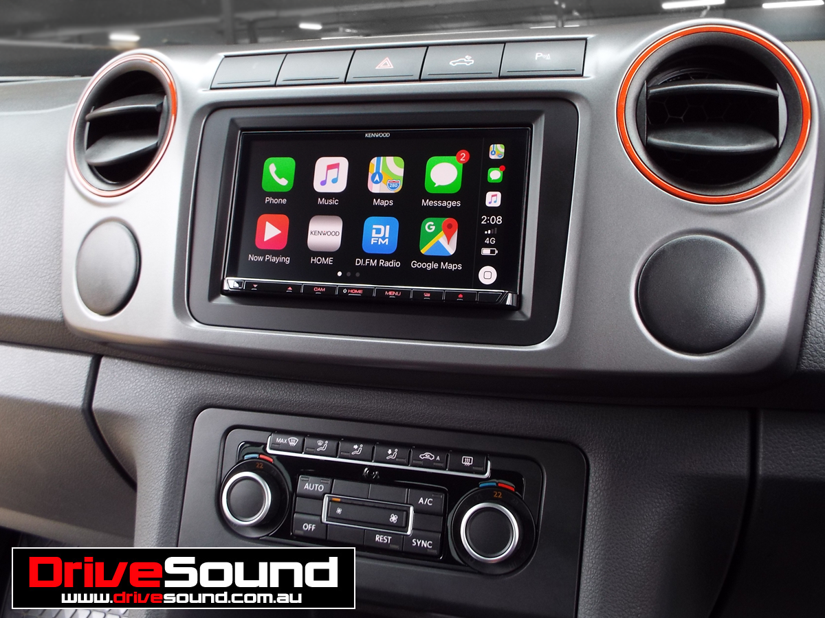 Vw Amarok With Apple Carplay Installed By Drivesound Carplay