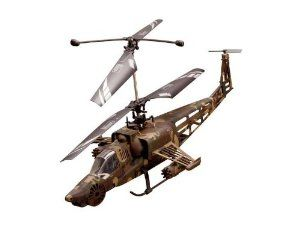 Extreme Flyers Attack 350 RC Helicopter Ready-To-Fly Military Heli