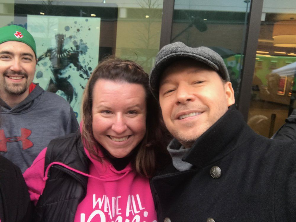 NKOTB Block Party #39: Donnie Wahlberg and the Dorchester Wahlburgers Food Truck…