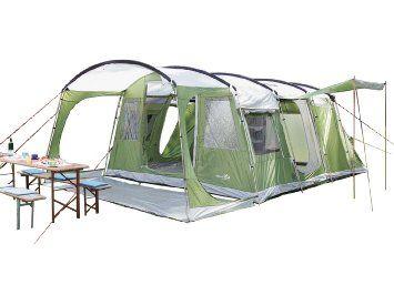 Skandika Saturn Tente familiale 6 places Vert: Amazon.fr: Sports et Loisirs