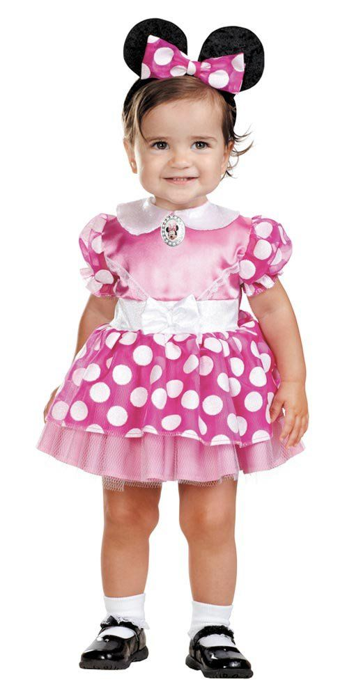 Pink Clubhouse #Minnie #Mouse Baby Costume - adorable  sc 1 st  Pinterest & Pink Clubhouse #Minnie #Mouse Baby Costume - adorable | Mi primer ...