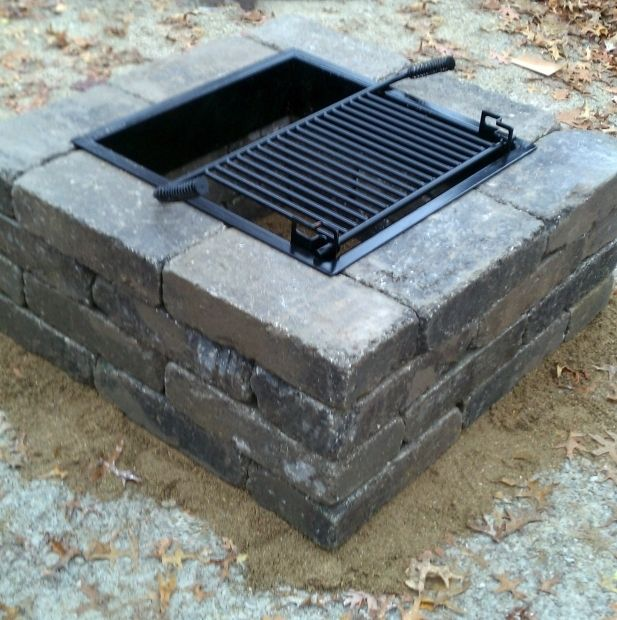 Image Of Square Fire Pit Insert 17 Best Images About Fire Pits On Pinterest Fire Pits Runners Fire Pit Insert Square Fire Pit Outdoor Fire Pit Designs