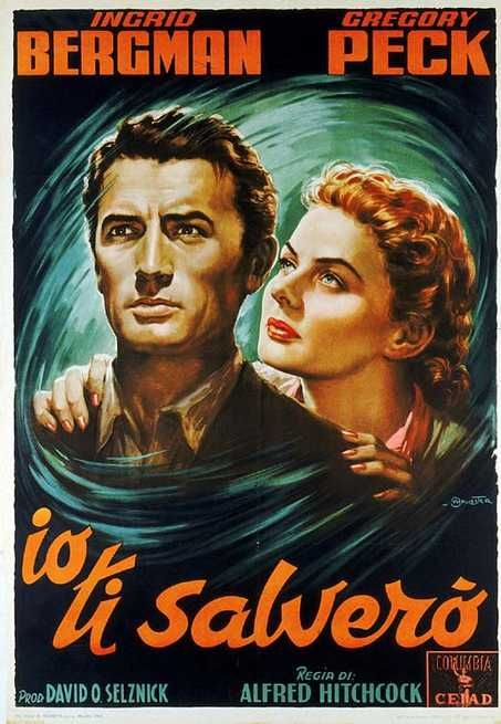 Spellbound è un film del 1945 diretto da Alfred Hitchcock, prodotto da David O. Selznick, e interpretato da Gregory Peck e Ingrid Bergman.