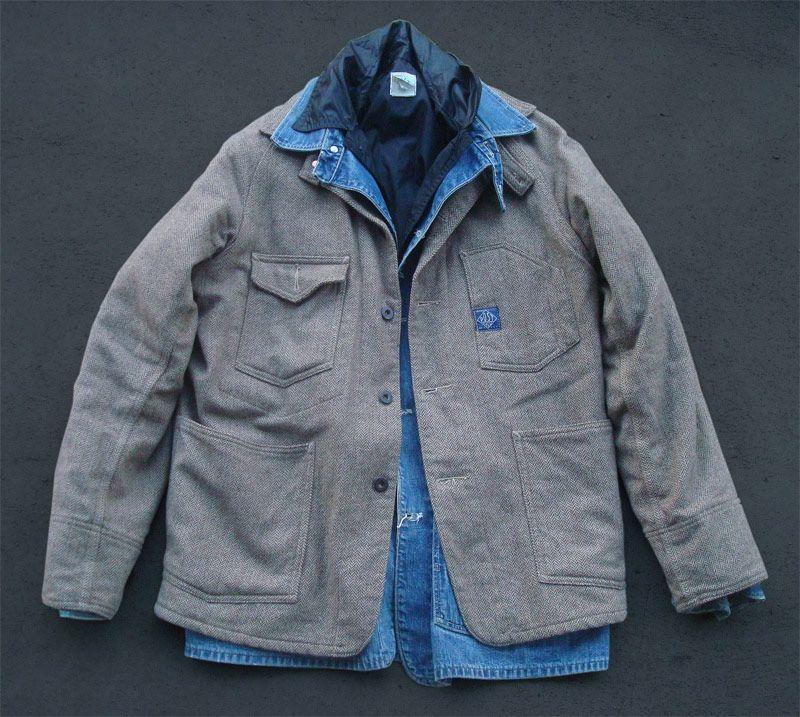 Post Overalls wool jacket