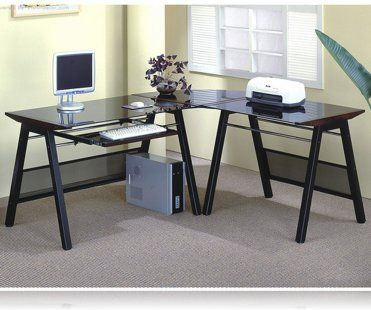 L Shaped Home Office Throughout Shaped Office Desk Contemporary Lshaped Home Office Desk Ldesks Coaster 800237
