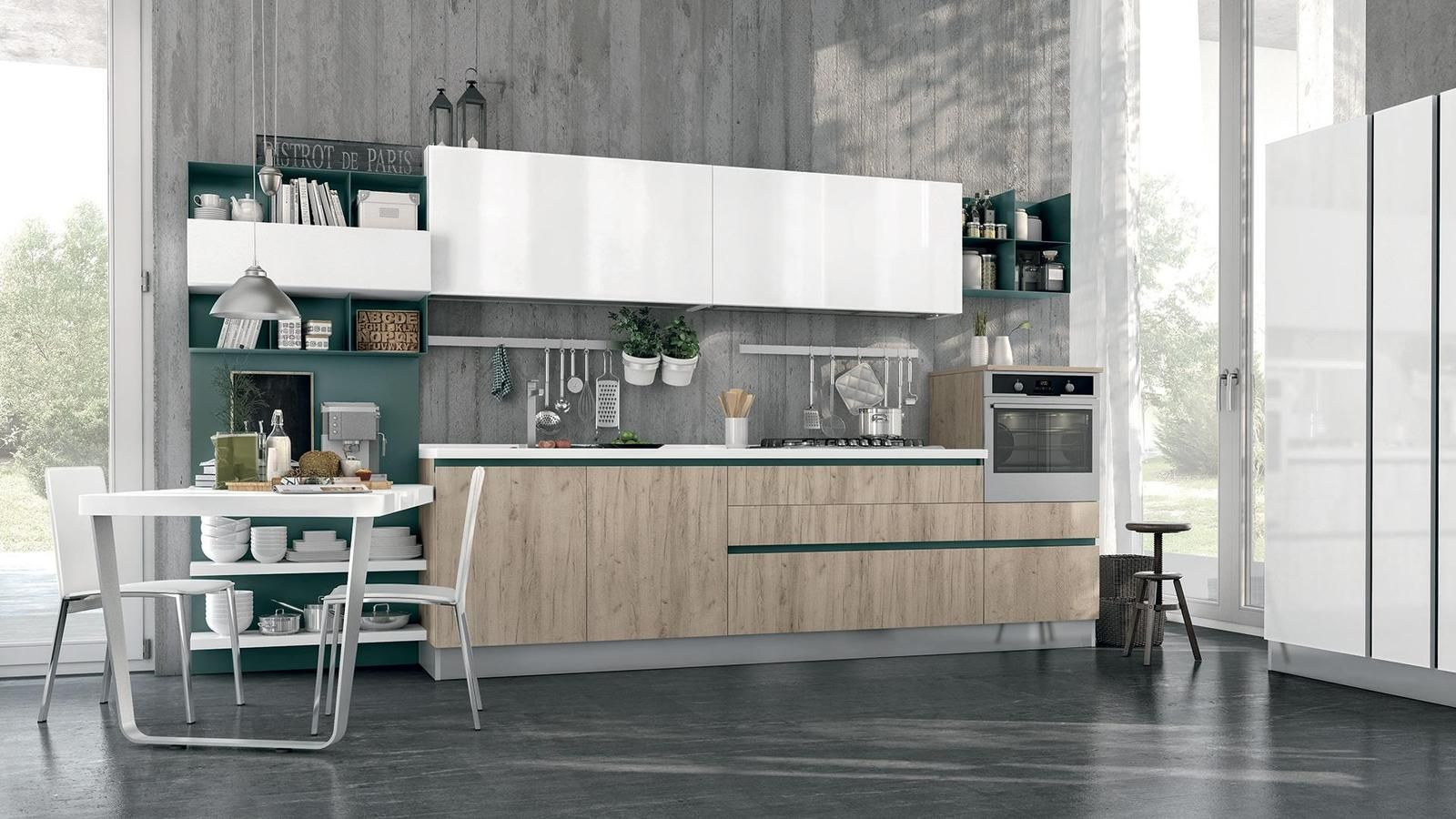 CUCINE LUBE | CENTRO IL MOBILE | new | Pinterest