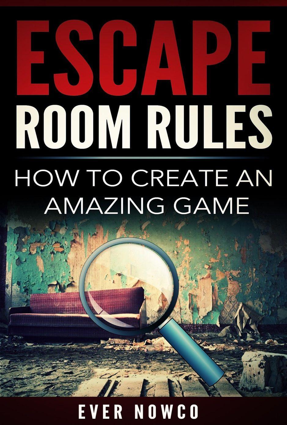 Escape Room Rules , AFFILIATE, Rules, books, Room