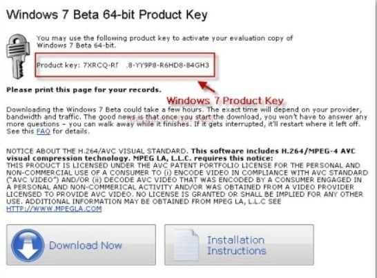 100 working windows 7 ultimate product key