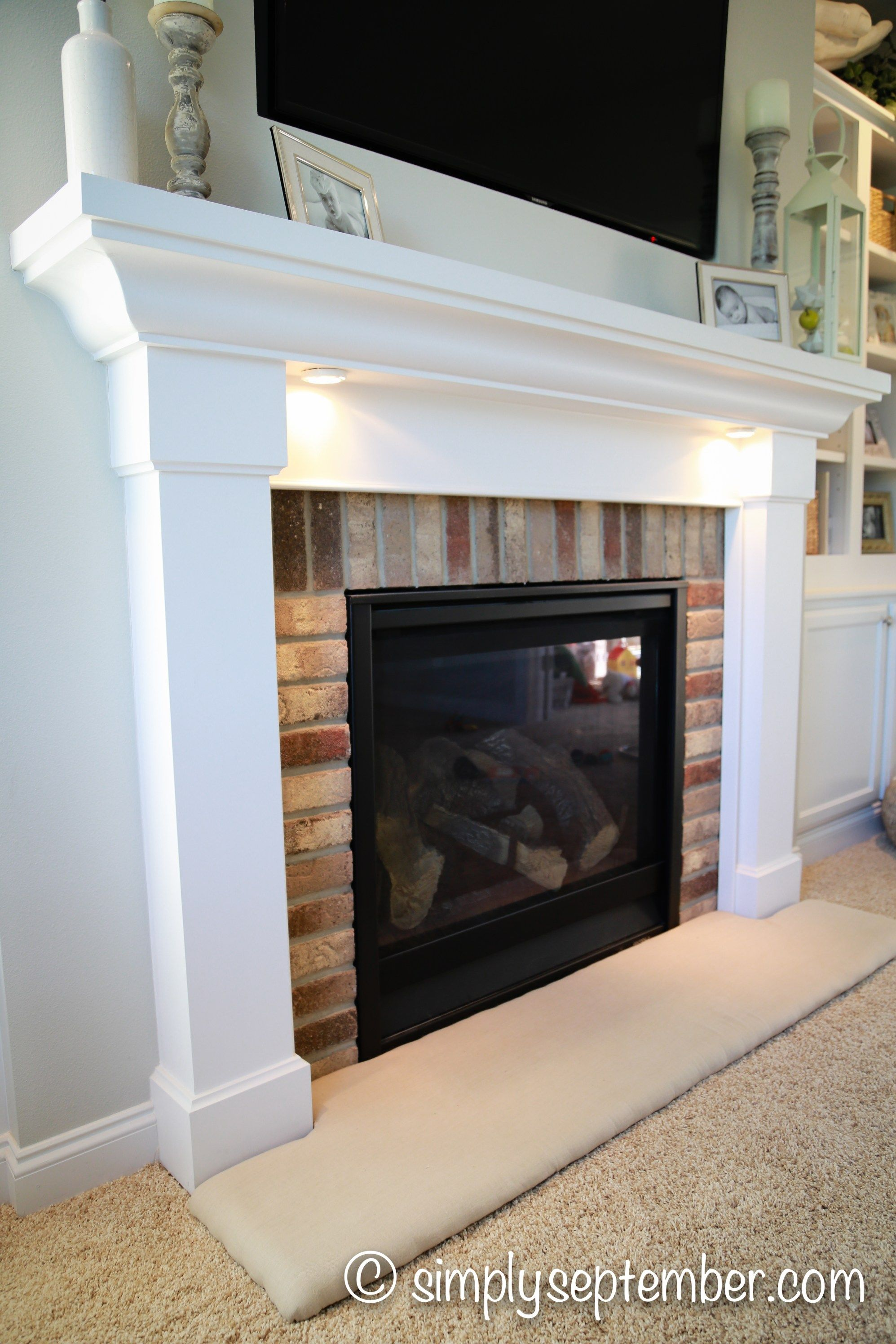 How To Baby Proof A Fireplace Diy Hearth Cushion New House