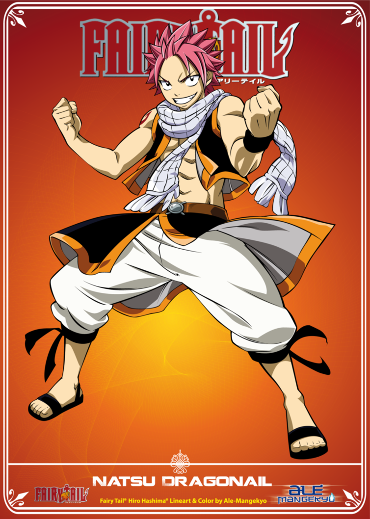 Lineart & Color by *alemangekyo Fairy Tail© Hiro Mashima