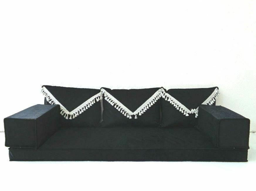 Turkish Set Sofa Oriental Arabic Jalsa Kilim Floor Corner Cushion Pillow Black Handmade Traditional 2020