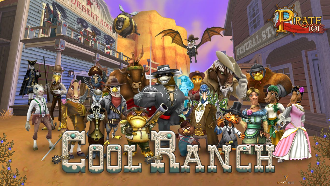 Pirate101 Cool Ranch | The art of Pirate101 | Pirate games
