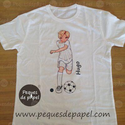 84603d89ae52d Camisetas para niños. Regalos originales y personalizados. Fútbol ...