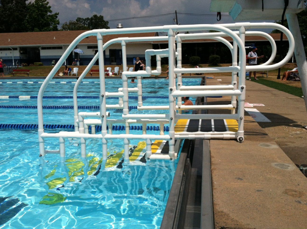 Pvc Pool Steps Google Search Above Ground Pool Ideas