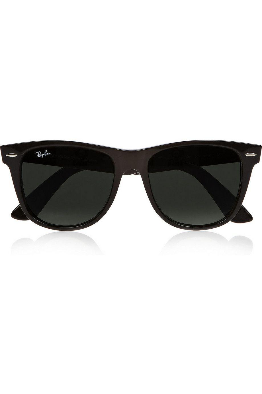 Ray-Ban | The Wayfarer D-frame acetate sunglasses | NET-A-PORTER.COM ...