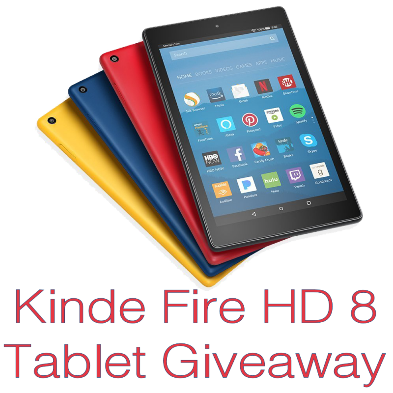 Kindle Fire Hd 8 Tablet With Alexa Giveaway Us Ends 8 6 Amazon Fire Tablet Kindle Fire Hd Fire Tablet