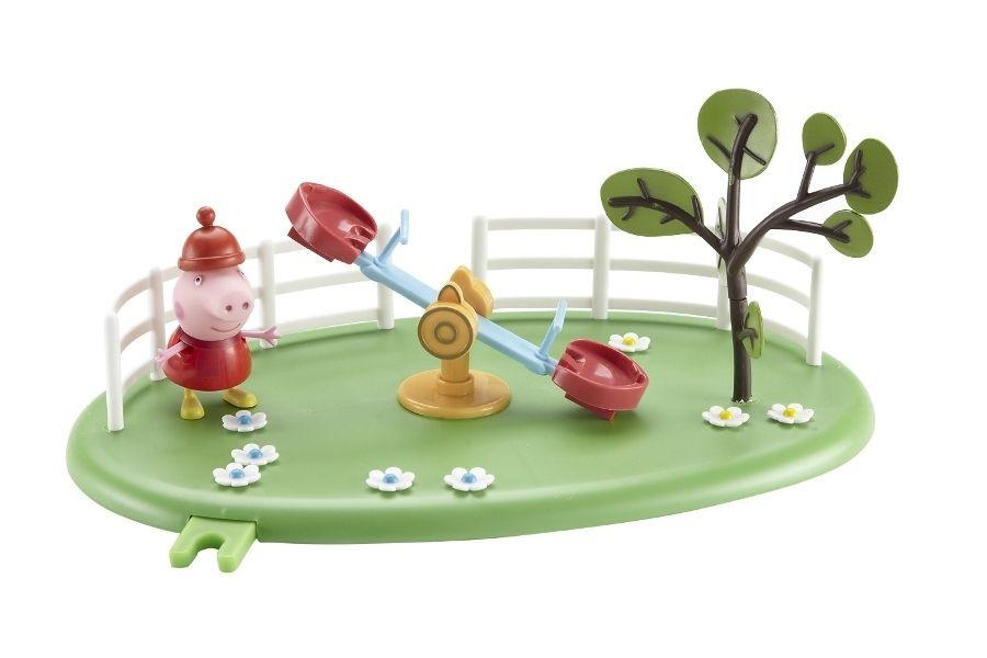 """Игровой набор Peppa Pig """"Игровая площадка Пеппы"""" - Качели-качалка"""