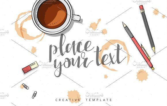 Sketch mockup for presentation by Vectorist on @creativemarket