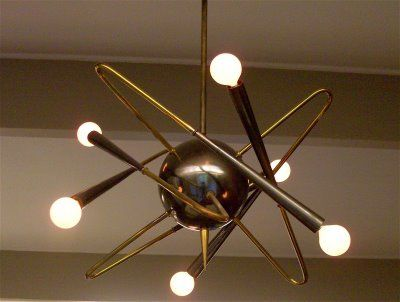 1950s Light Fixture Light Retro Lighting Stilnovo Chandelier