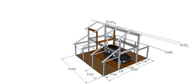 Monitor barn google search pole barns pinterest barn for Monitor barn house plans