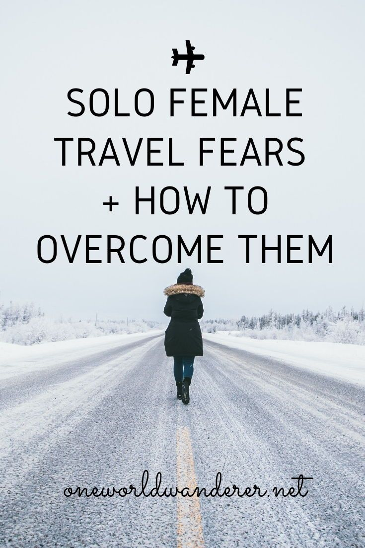 These common solo travel fears are not something you are going through alone- here are a some of the common fears you can face as a solo female traveler. #solotravel #solofemaletravel #travelalome