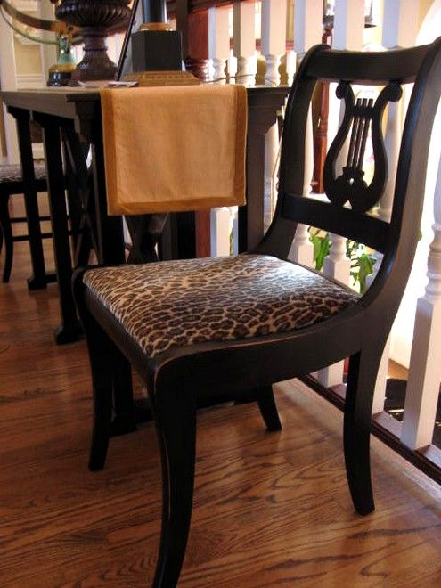 Furniture Updating With Black Spray Paint Dream Home