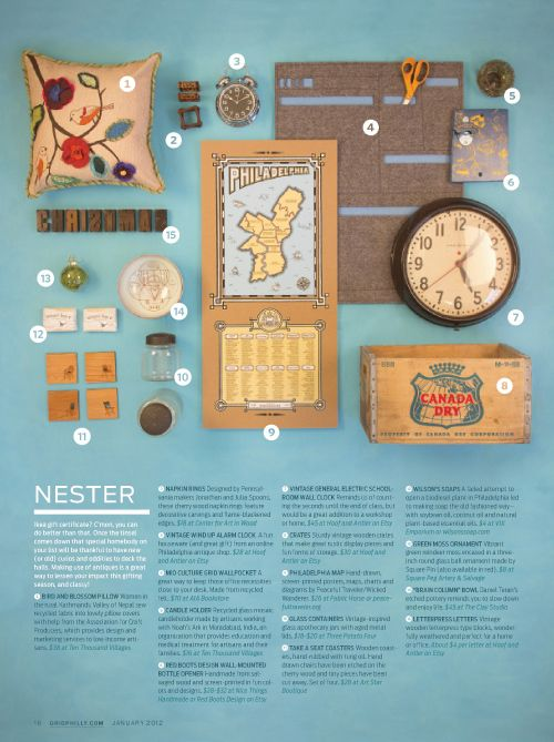 Christmas Gift Guide Layout.Grid Magazine Gift Guide Magazine Layout Design Gift
