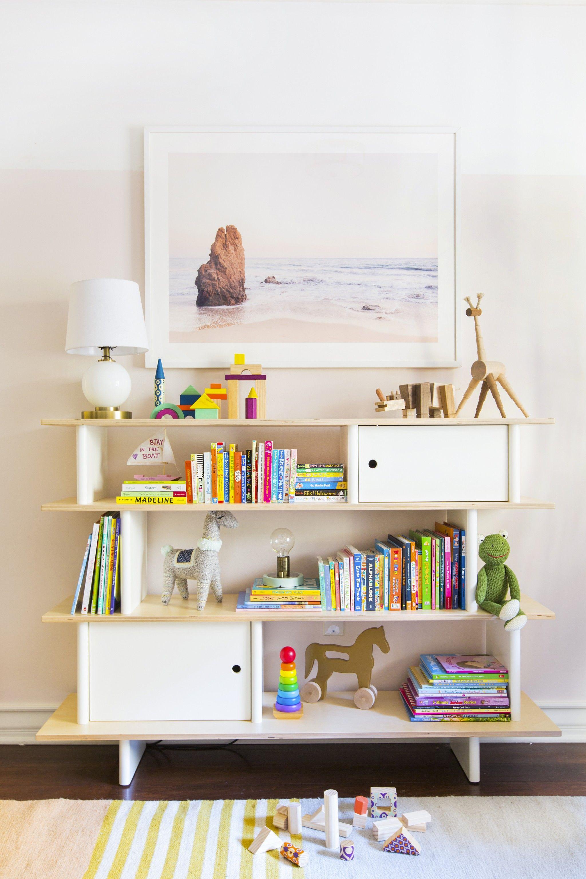 whiteprimary primary kids storage toddler l bookshelf tutors tot white rack book