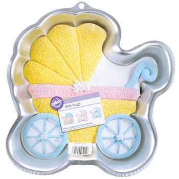 Baby Stroller Cake Pan Makes For The Perfect And Most Adorable Cake