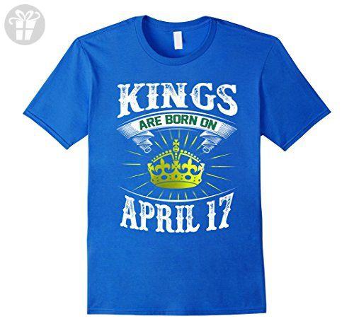 Men's Kings Are Born On April 17 Birthday shirt 3XL Brown