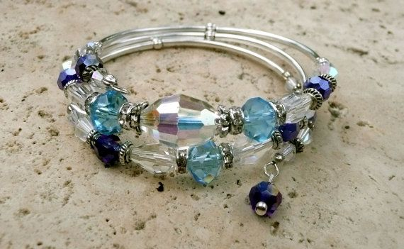 Genuine MulitColored Swarovski Crystal Silver by IslandGirl77