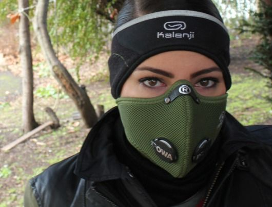 Respro Ultralight Sports Face Mask To Breathe More Easily In