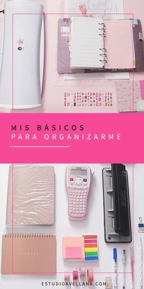 Mis básicos para organizarme   Organización de la agenda