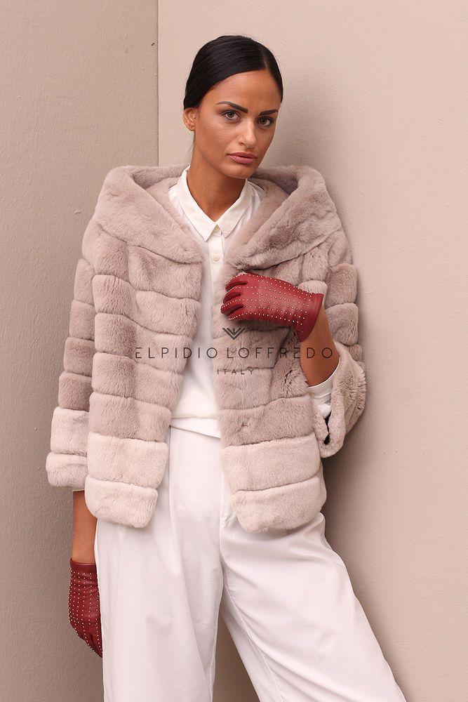 Dettagli su Pelliccia cappotto di pelliccia cappotto Orylag