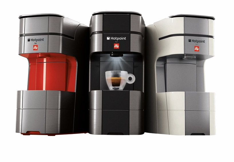 Designboom Coffee Maker : Un cafe para llevar illy hotpoint espresso maker series - designboom Maneras divertidas de ver ...