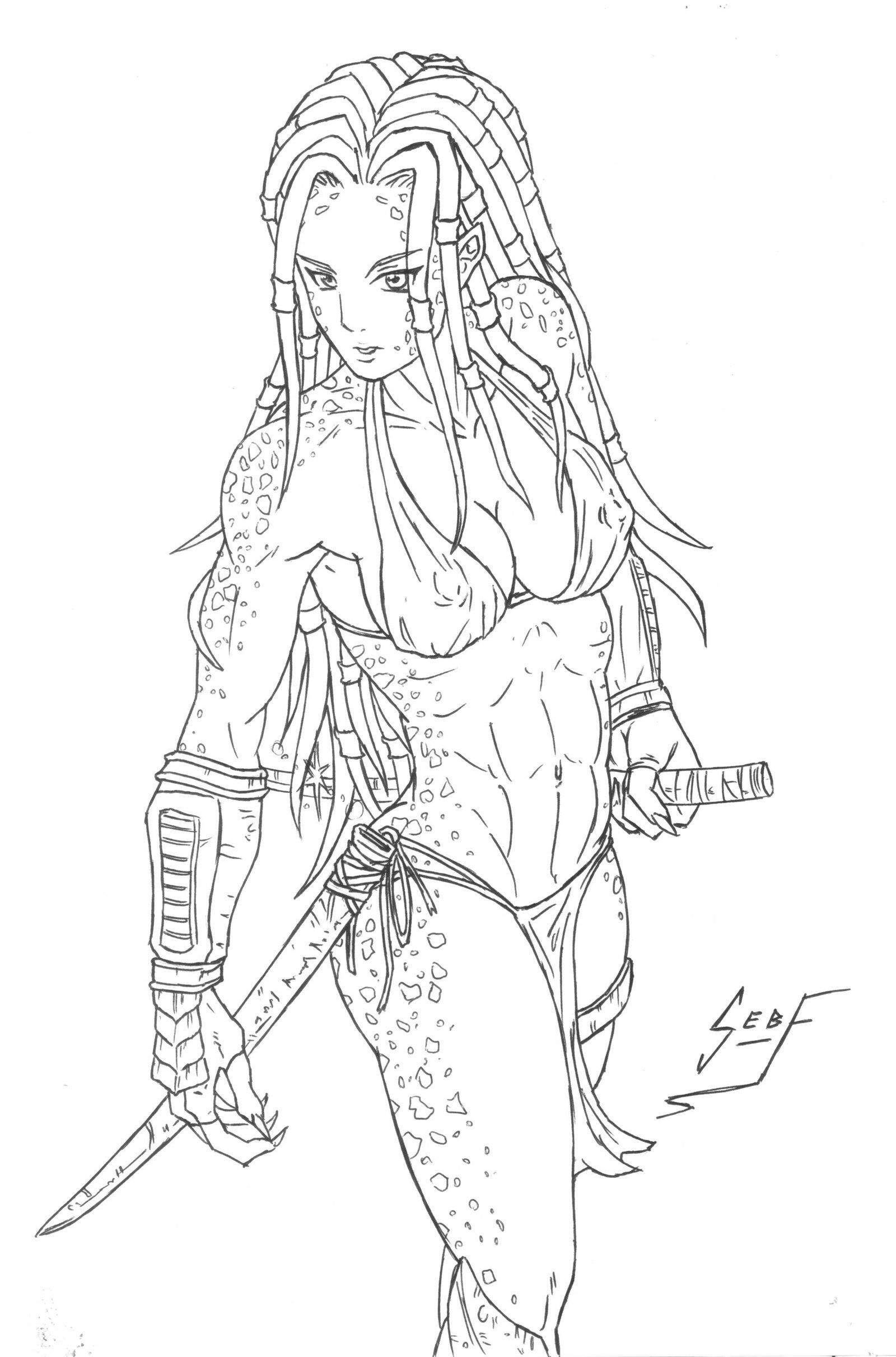 predator coloring pages - photo#33