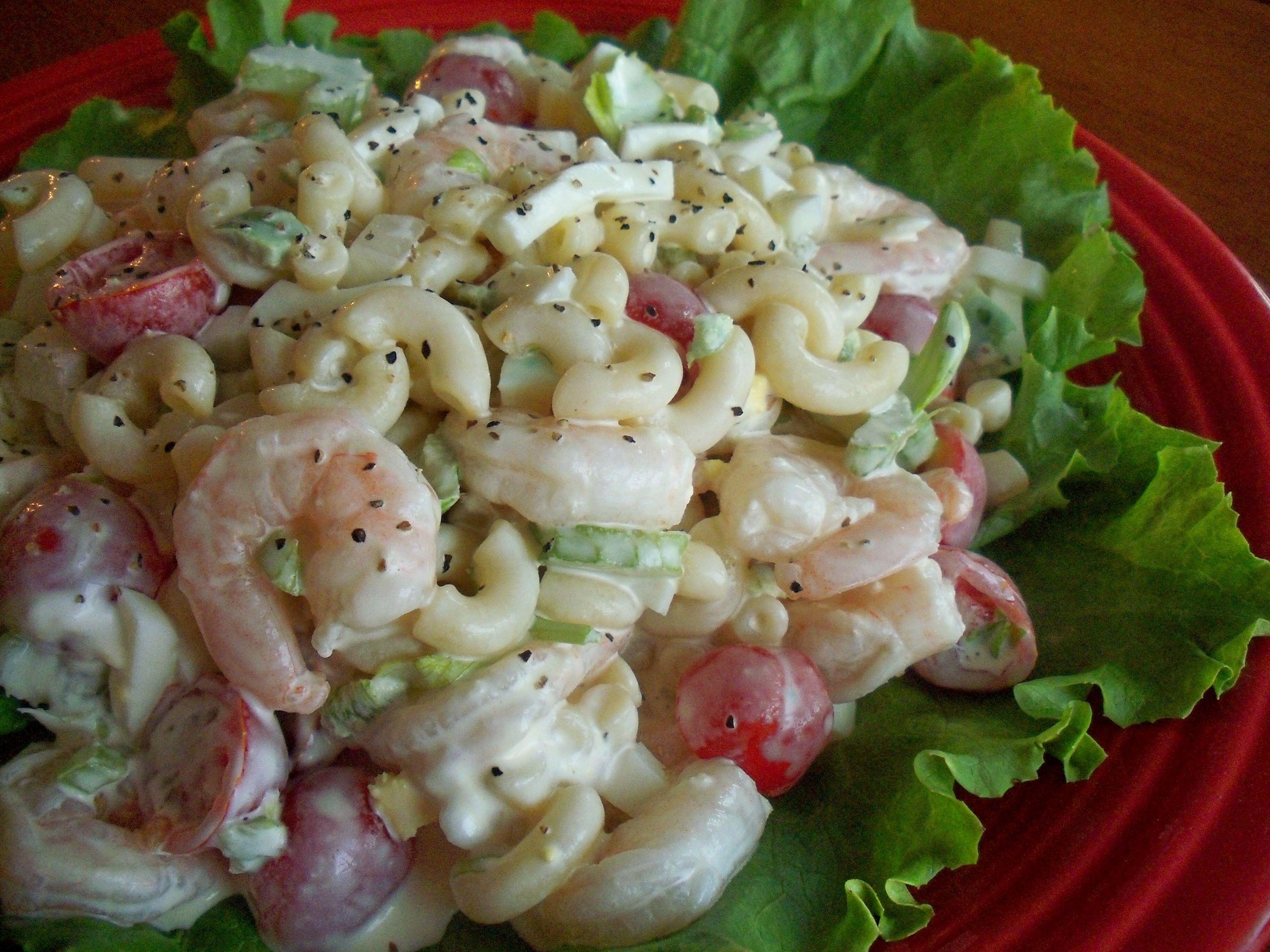 Shrimp Salad Recipe With Elbow Macaroni