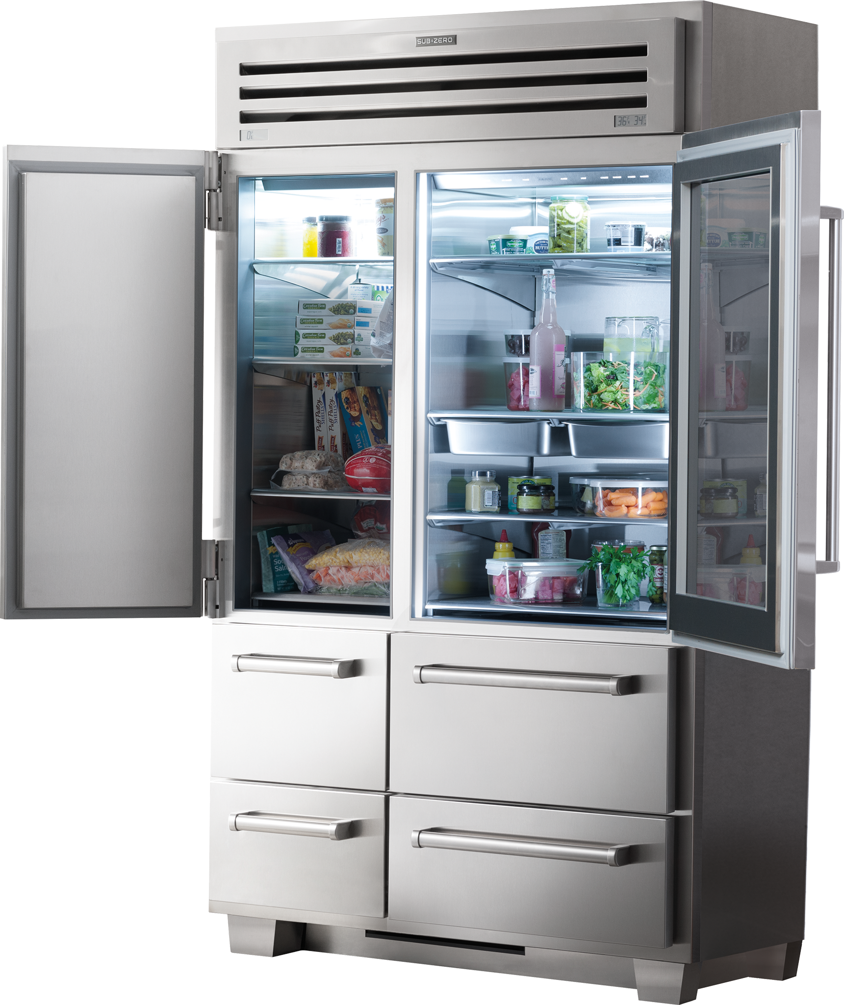 Sub Zero 48 Panel Ready Refrigerator