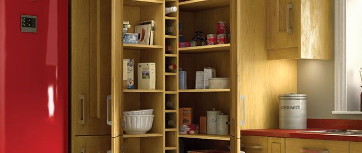 Walk In Pantry Cupboard To Order Kitchens Buying Guides Help Advice Wickes The Heart