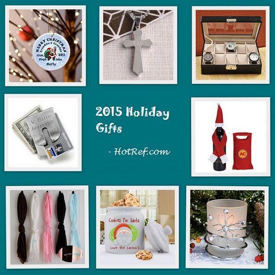 2015 Holiday Gift Shop at HotRef.com #holidaygifts