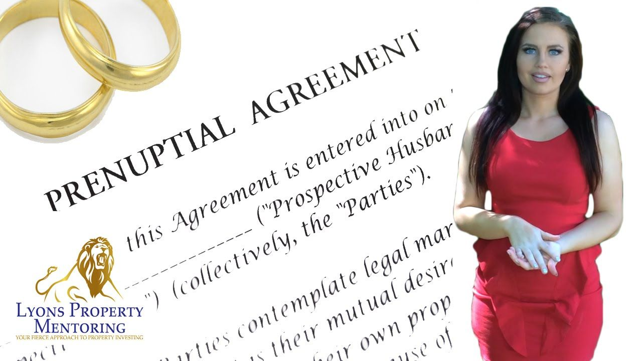 A Prenuptial Agreement Is An Important Factor That Property
