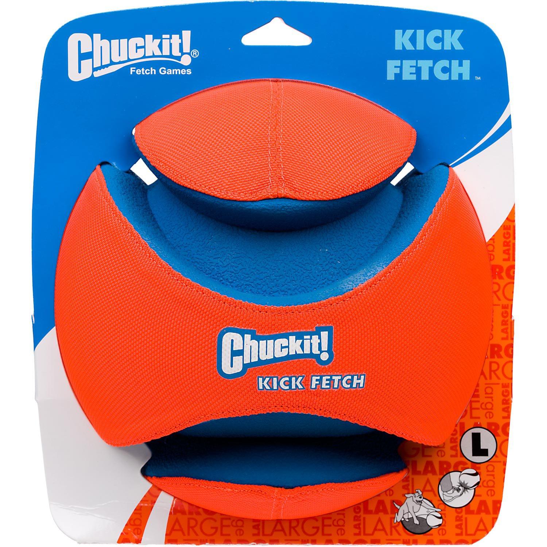 Chuckit Kick Fetch Ball Dog Toy Large Small Dog Toys