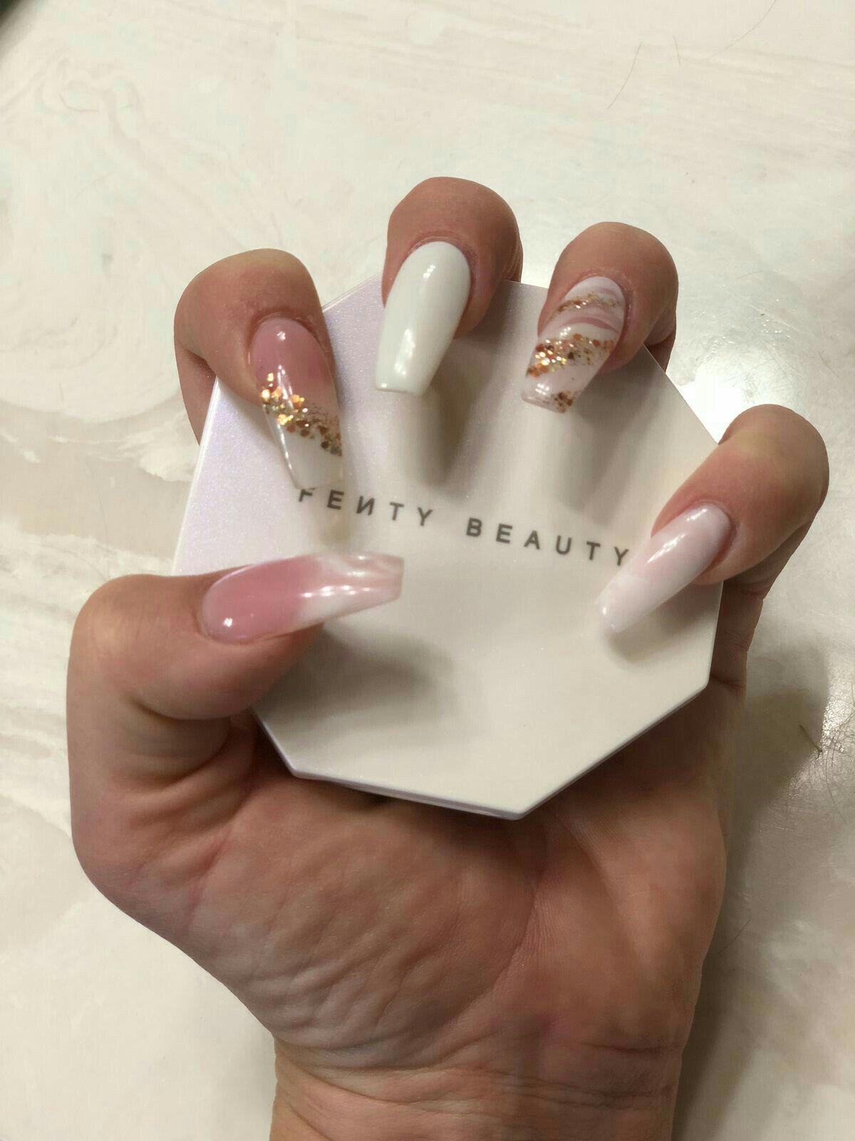 Stunning raw nail