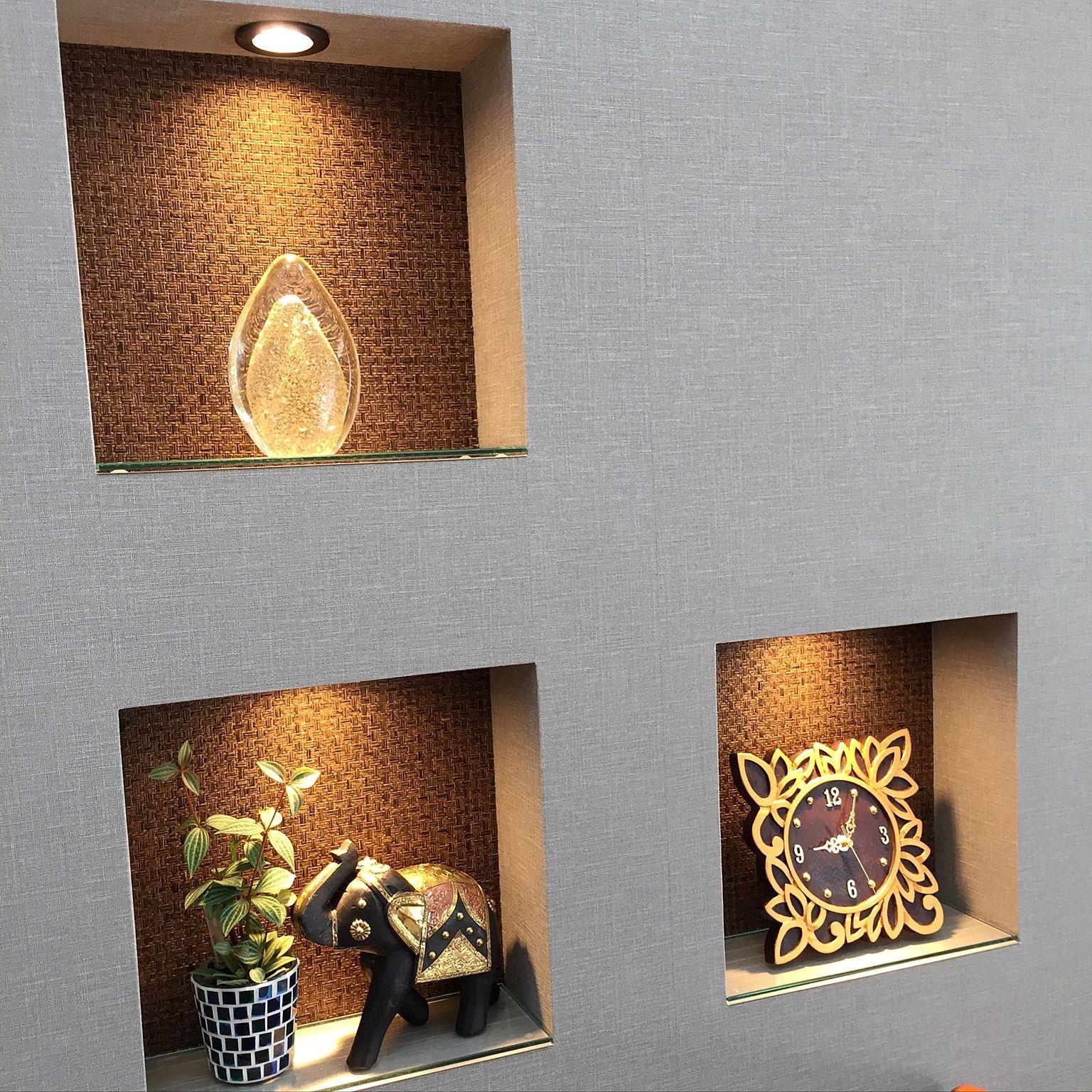 棚 Sangetsu 壁紙 ニッチ棚 ニッチ などのインテリア実例 16 09 12 09 21 24 Roomclip ルームクリップ インテリア インテリア アジアン ホテルライク インテリア