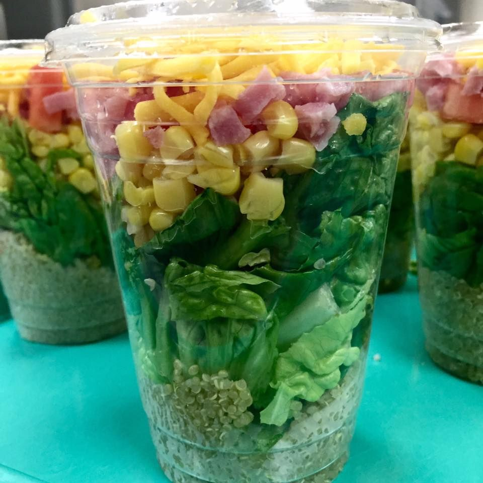 wow back2school shaker salad schoollunch in bibbschools eatrightsnp ga_sna - Shaker Cafe Ideas